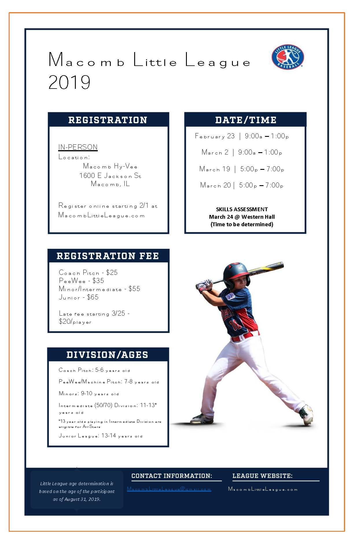 2019 Little League Registration (1)
